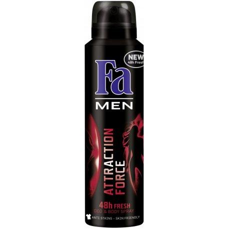 Fa pánsky deodorant 150 ml - Attraction force