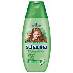 Schauma 7 Bylín šampón na normálne a mastné vlasy 250 ml