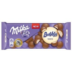 Milka čokoláda - Bubbly white 100g