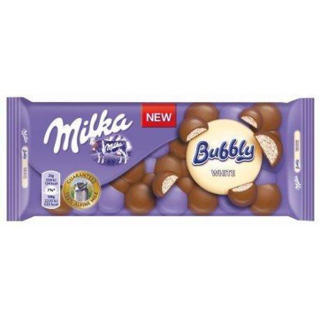 Milka čokoláda 100 g - Bubbly white