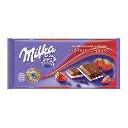 Milka čokoláda Strawberry 100 g