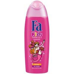 Fa  detský sprchový gél a šampón kids Morská panna 250 ml