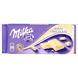 Milka  Biela čokoláda 100g