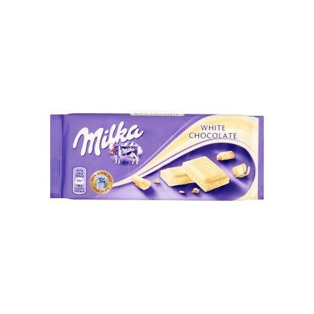 Milka čokoláda 100 g - Biela čokoláda