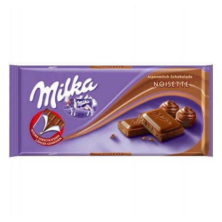 Milka čokoláda 100 g - Noisette