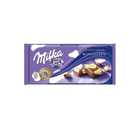 Milka čokoláda 100 g - Kuhflecken