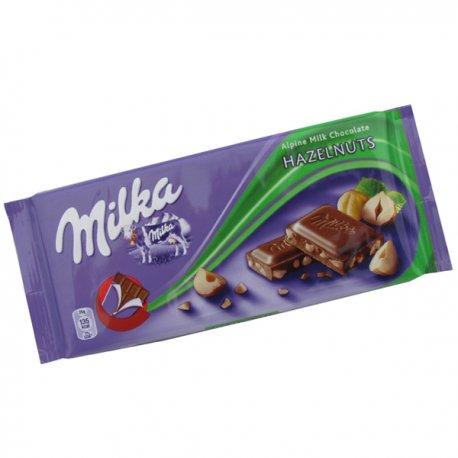 Milka čokoláda 100 g - Oriešky
