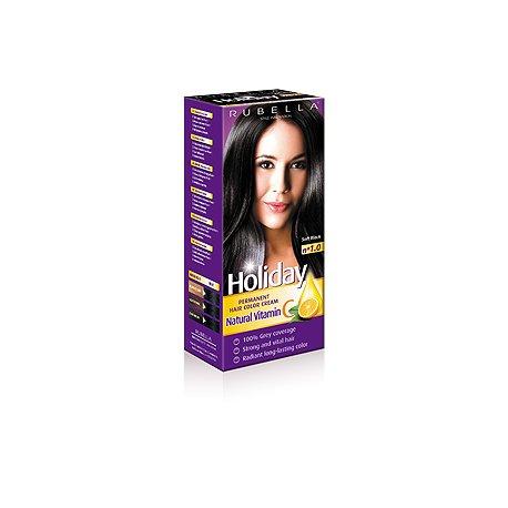 Holiday farba na vlasy - N 1.0 - Čierna