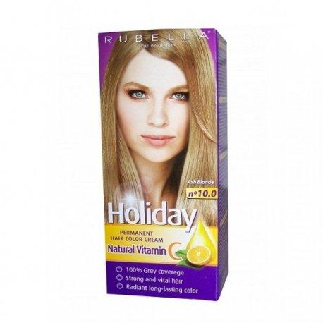 Holiday farba na vlasy - N 10.0 - Popolavo blond