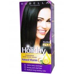 Holiday farba na vlasy - N 1.02 - Modro-čierna