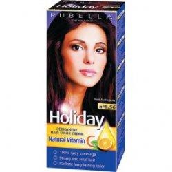 Holiday farba na vlasy  - Tmavý mahagón N 6.56