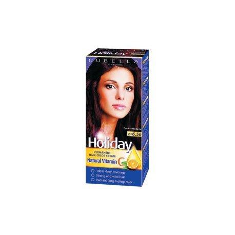 Holiday farba na vlasy - N 6.56 - Tmavý mahagón