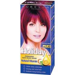 Holiday farba na vlasy - N 7.45 - Intenzívna červená