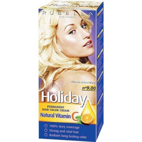 Holiday farba na vlasy - N 9.00 - Prírodná blond