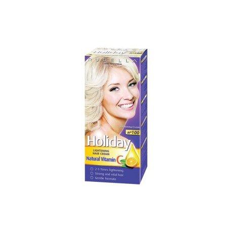 Holiday farba na vlasy - N 100 - Zosvetlovací krém