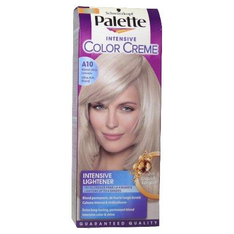 Palette farba na vlasy - A10 - Zvlášť popolavoplavý