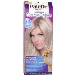 Palette farba na vlasy  - Ľadovostrieborný blond C10