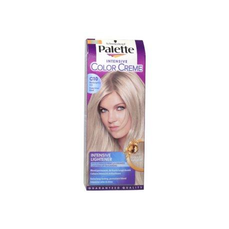 Palette farba na vlasy - C10 - Ľadovostrieborný blond