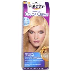 Palette farba na vlasy  - Super svetlý blond E20