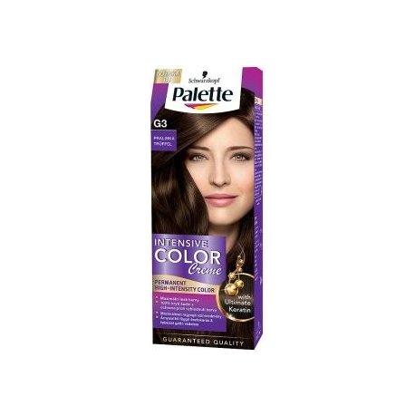 Palette farba na vlasy - G3 - Pralinka