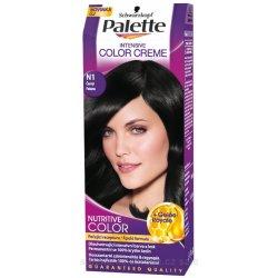 Palette farba na vlasy  - Čierny  N1