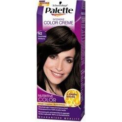 Palette farba na vlasy  - Tmavohnedý  N2