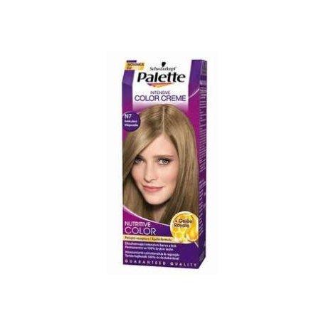 Palette farba na vlasy - N7 - Svetloplavý