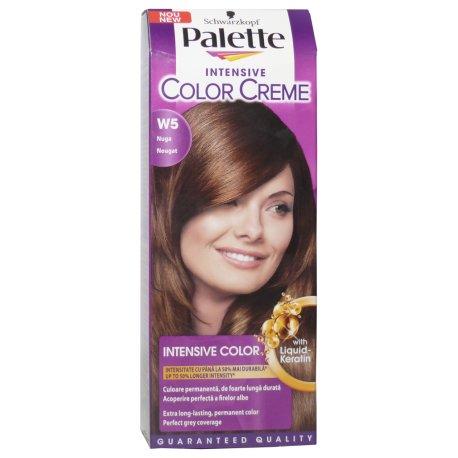 Palette farba na vlasy - W5 - Nugát
