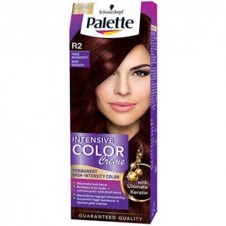 Palette farba na vlasy - R2 - Tmavý mahagón