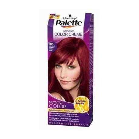 Palette farba na vlasy - R15 - Intenzívny červený