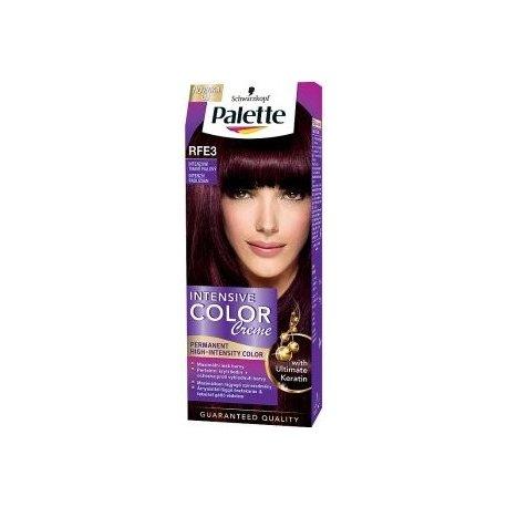 Palette farba na vlasy - Rfe3 - Intenzívny tmavofialový