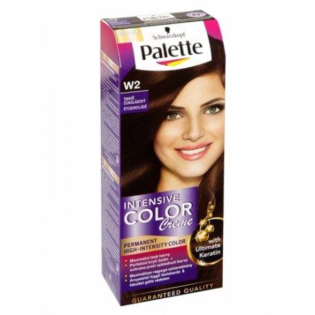 Palette farba na vlasy - W2 - Tmavá čokoláda