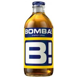 Bomba energetický nápoj  sklo - 250 ml