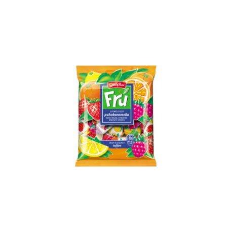 Fru cukrík 60 g - Jahoda, malina, citrón a pomaranč