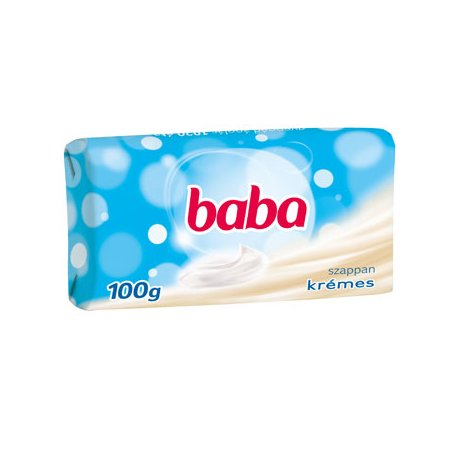 Baba mydlo 100 g - Krémový