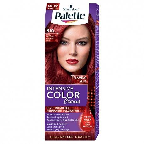 Palette farba na vlasy R16 ohnive červená