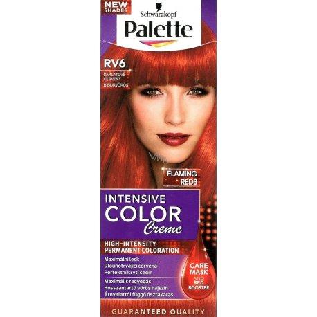 Palette farba na vlasy RV6 šarlátové červený