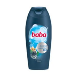 Baba pánsky sprchový gél- Ostružina a zázvor- 400 ml