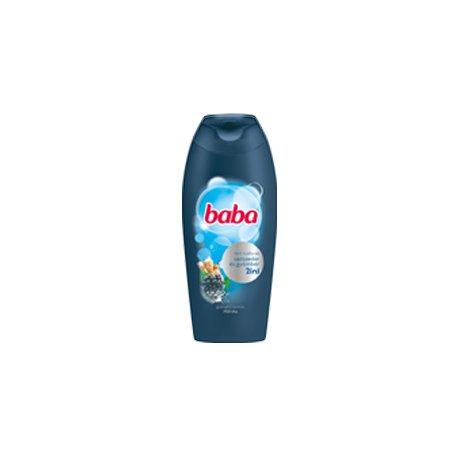 Baba pánsky sprchový gél 400 ml - Ostružina a zázvor