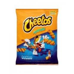 Cheetos Extrudovaný kukuričný výrobok s príchuťou  syra a kečupu 30g