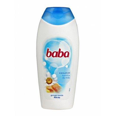 Baba sprchový gél 400 ml - Harmanček s medom