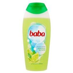 Baba sprchový gél - Zelený citrón a mäta - 400 ml
