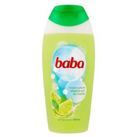 Baba sprchový gél 400 ml - Zelený citrón a mäta