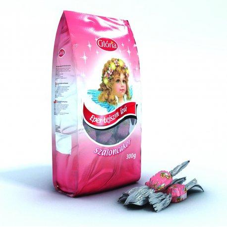 Salónky 300 g - Jahoda smotanový