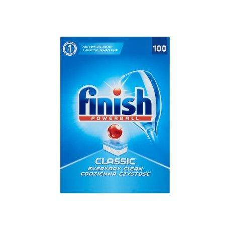 Calgonit Finish Powerball Classic tablety do umývačky riadu 100 ks