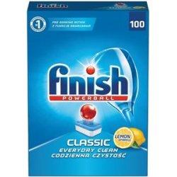 Calgonit Finish Powerball Classic tablety do umývačky riadu 100ks lemon