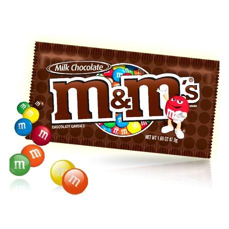 M&M's čokoládové dražé v chrumkavej cukrovej škrupinke 45 g