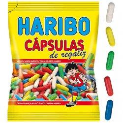 Haribo Cápsulas dražovaná cukrovinka s príchuťou sladkého drievka 80 g