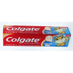 Colgate zubná pasta Bubble pre deti 2-5 rokov 50ml