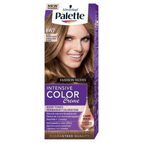 Palette farba na vlasy BW7 - tmavoplavý nude